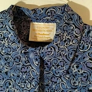 Country sophisticates by Pendleton 8 blue black